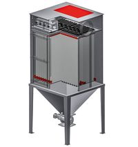 Soppressione dell'esplosione su una unità di filtrazione Herding con design resistente agli shock di pressione dovuti a esplosione