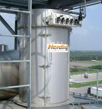 Herding FLEXTOP installazione su silo