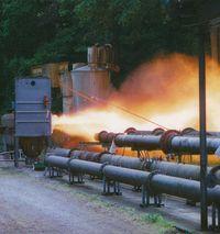 Test su esplosioni / test delle unità presso l'area di prova